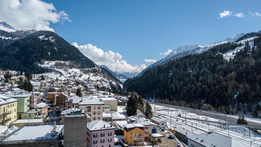Airolo / 3 Zi Wohnung im Ski- und Wandergebiet
