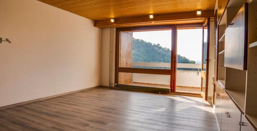 1 Zi. Wohnung mit grandioser Aussicht auf die Berge